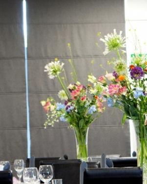 Hotel Moran w Powidzu  - polne kwiaty