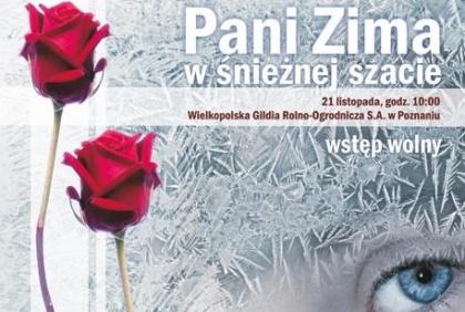 Gala florystyczna WGRO - Pani Zima w śnieżnej szacie