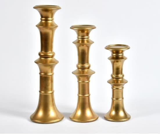 złoty świecznik