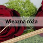 Wieczna róża - Ferrari wśród kwiatów