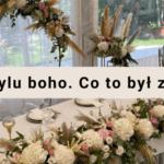 Niezwykłe przyjęcie weselne. Detale, które robią różnicę