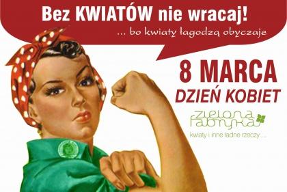 Dzień Kobiet 2013, prawie jak w PRLu