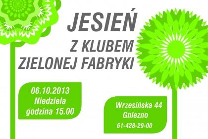 Klub Zielonej Fabryki - spotkanie w jesiennych klimatach