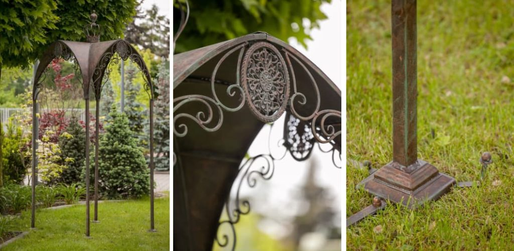 altana ogrodowa w stylu prowansalskim