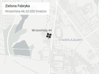 Mapa dojazdu do Wrzesińskiej 44 - Open Street Map