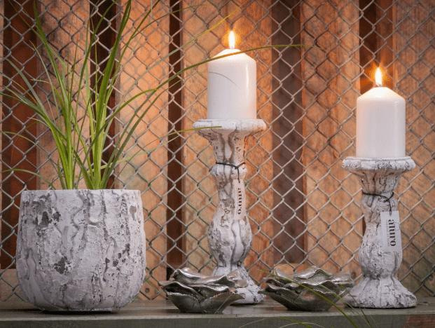 świecznik w stylu prowansalskim