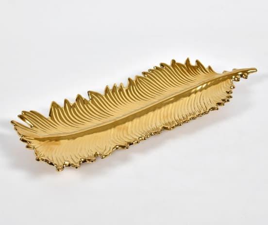 złota patera
