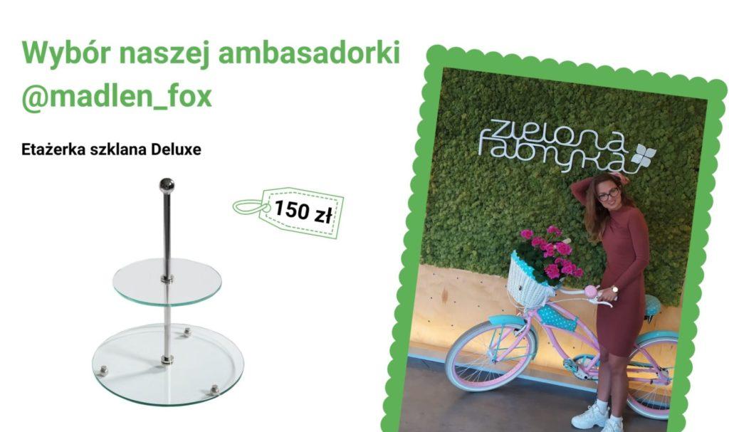 Etażerka szklana Deluxe - wybór naszej ambasadorki @madlen_fox